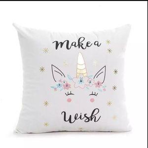 NWOT Unicorn Cushion Cover